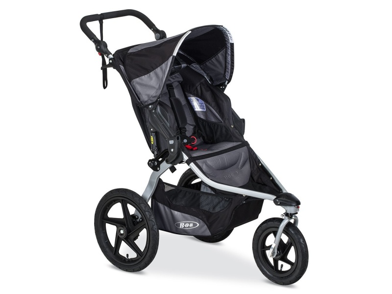 BOB 2016 Revolution FLEX Stroller, Black, best jogging stroller