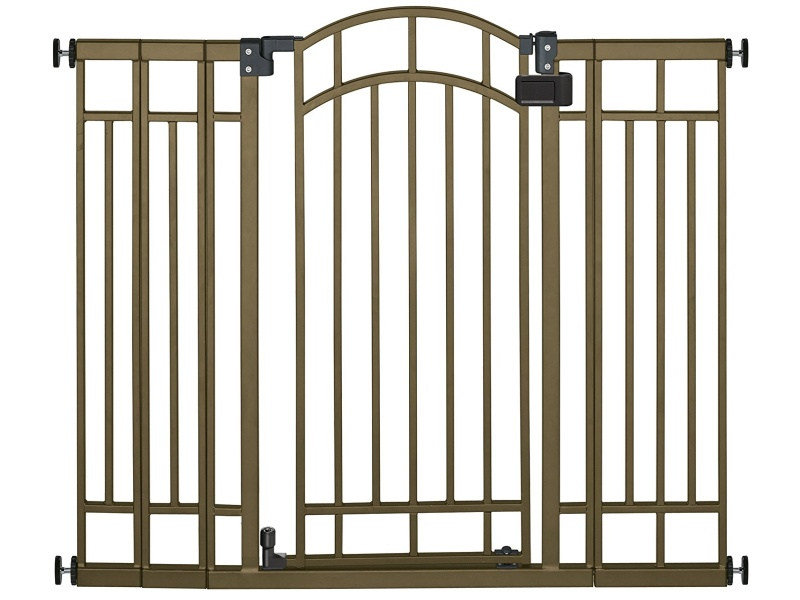 Summer Infant Multi-Use Deco Extra Tall Walk-Thru Gate, Bronze