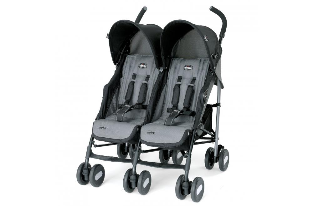 Chicco Echo - Lightweight Double Umbrella Stroller