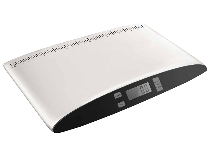 Redmon For Kids Weigh to Grow Precision Digital Baby Scale, White