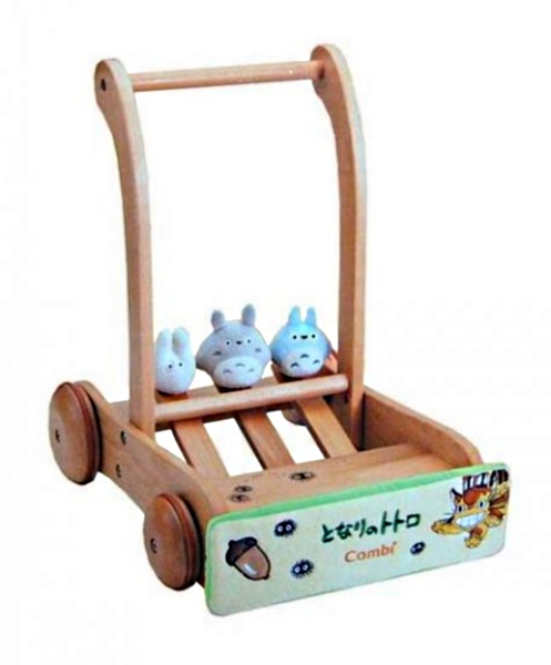 Combi My Neighbor Totoro Ghibli Push Cart Walker
