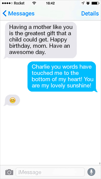 Happy birthday quotes for mom - Having a mother like you