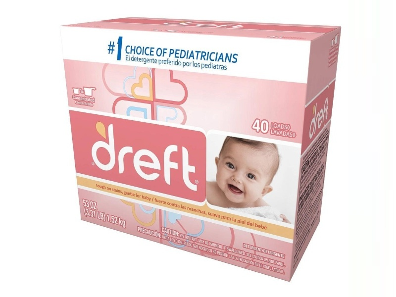 Dreft Baby Original Scent Powder Laundry Detergent, 53 Ounce -- 4 per case