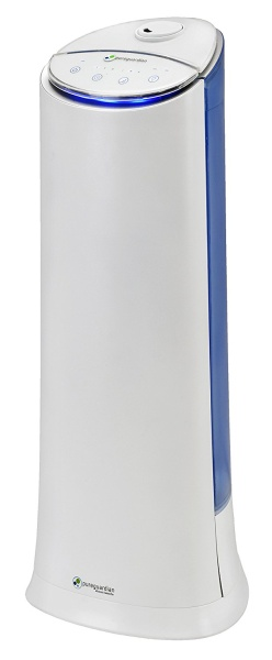 PureGuardian 10.8L Output per Day Ultrasonic Cool Mist Humidifier Tower, Personal Humidifier, Room Humidifier, Pure Guardian H3200WCA