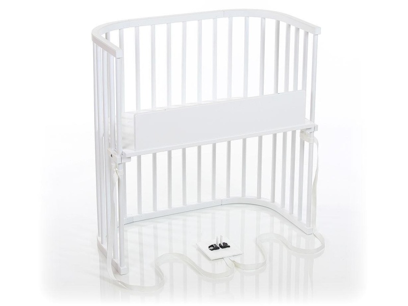babybay Bedside Sleeper (Pure White Finish)