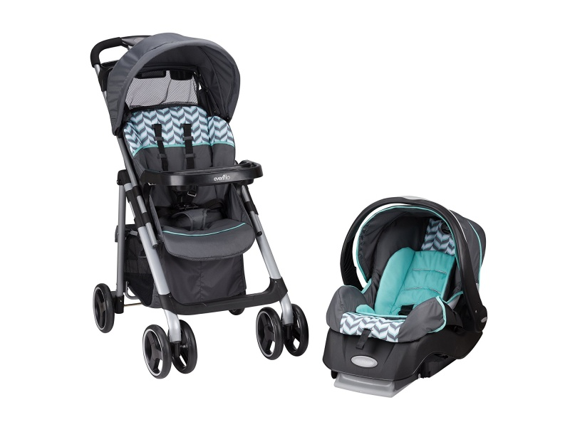 Evenflo Vive Travel System with Embrace, best stroller for travel