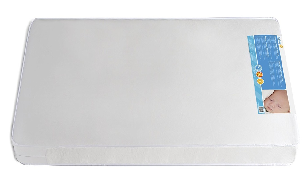 Safety 1st Heavenly Dreams White Colored Mattress For Cribs from Safety 1st