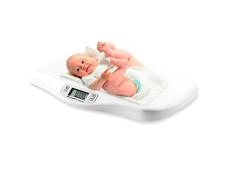 AFENDO® Electronic Digital Smoothing Infant, Baby and Toddler Scale - White