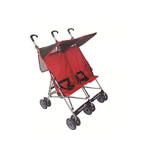 AmorosO - Most Lightweight Double Stroller