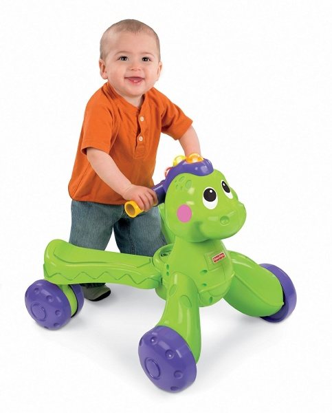 Fischer Price Go Baby Go! Stride-to-Ride Dino