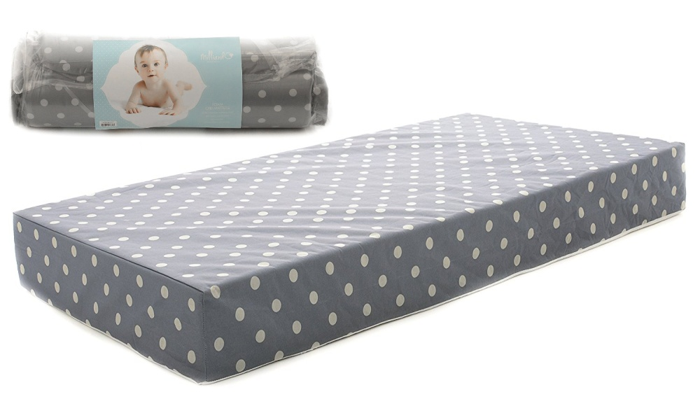Milliard Toddler Bed Mattress or Baby Crib Mattress With Hypoallergenic and Waterproof Encasement
