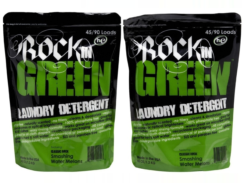Rockin Green Laundry PWDR CR Naked BAB, 45 OZ