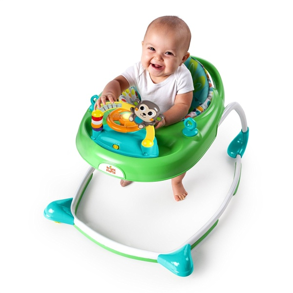 Bright Starts 2-in1 Walkin' Wild Walker