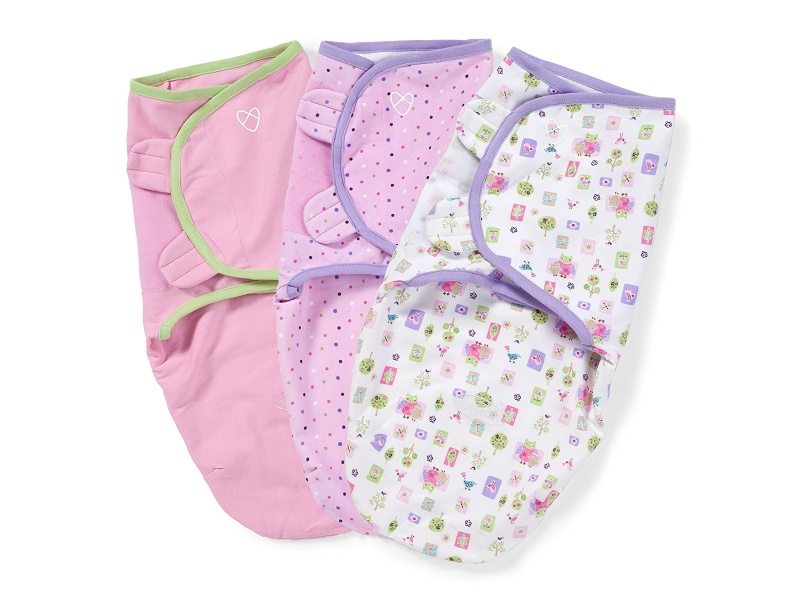 SwaddleMe Original Swaddle 3-PK, Who Loves You (SM), best baby blankets