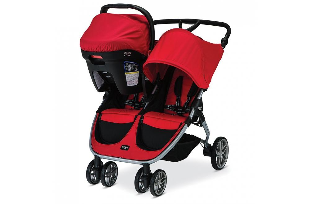 Britax 2016 B-Agile - Lightweight Double Buggy
