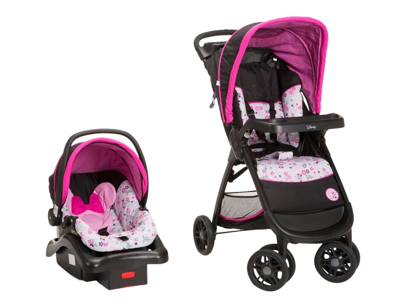 Disney Amble Quad Travel System, baby girl travel systems