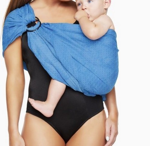 Breathable Baby Wrap Water Metal Ring Sling Carrier