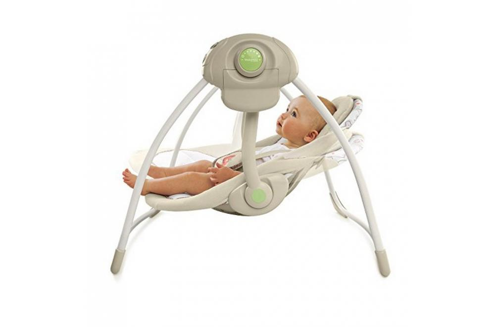 Comfort and Harmony Cozy Kingdom - Best Portable Baby Swing