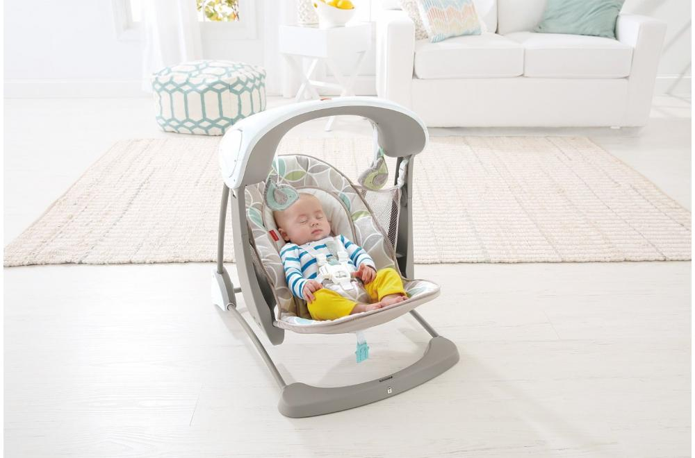 Fisher-Price Deluxe Take Along Baby Swing and Seat