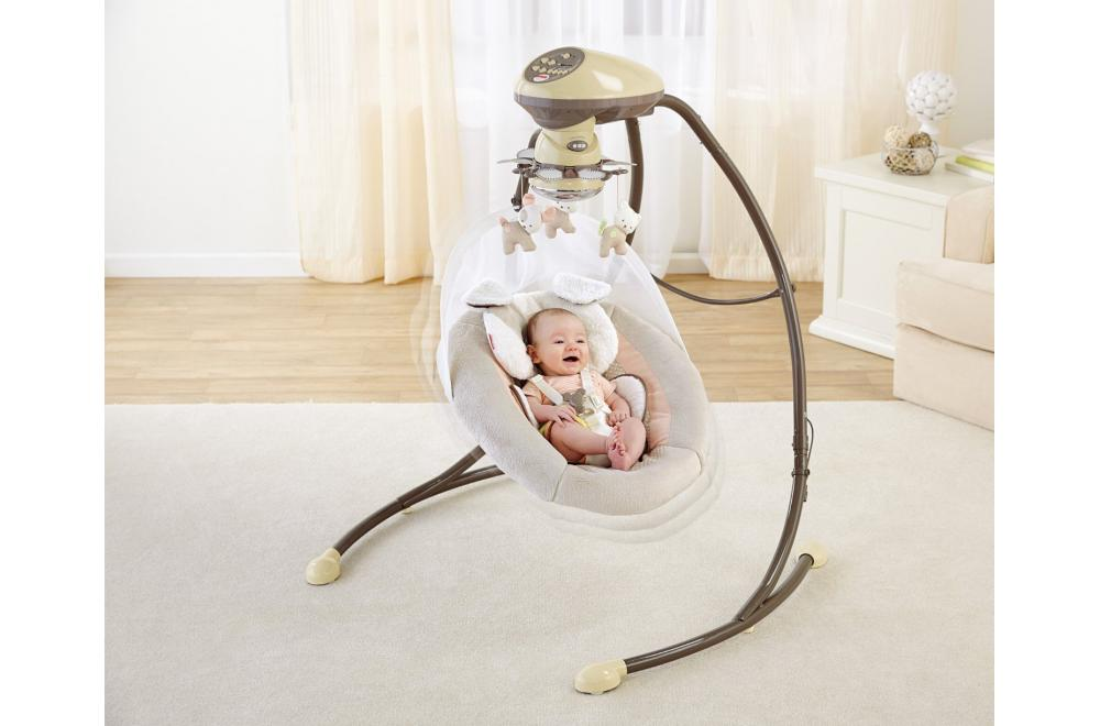 Fisher-Price My Little Snuggapuppy Cradle and Swing - Baby Swing