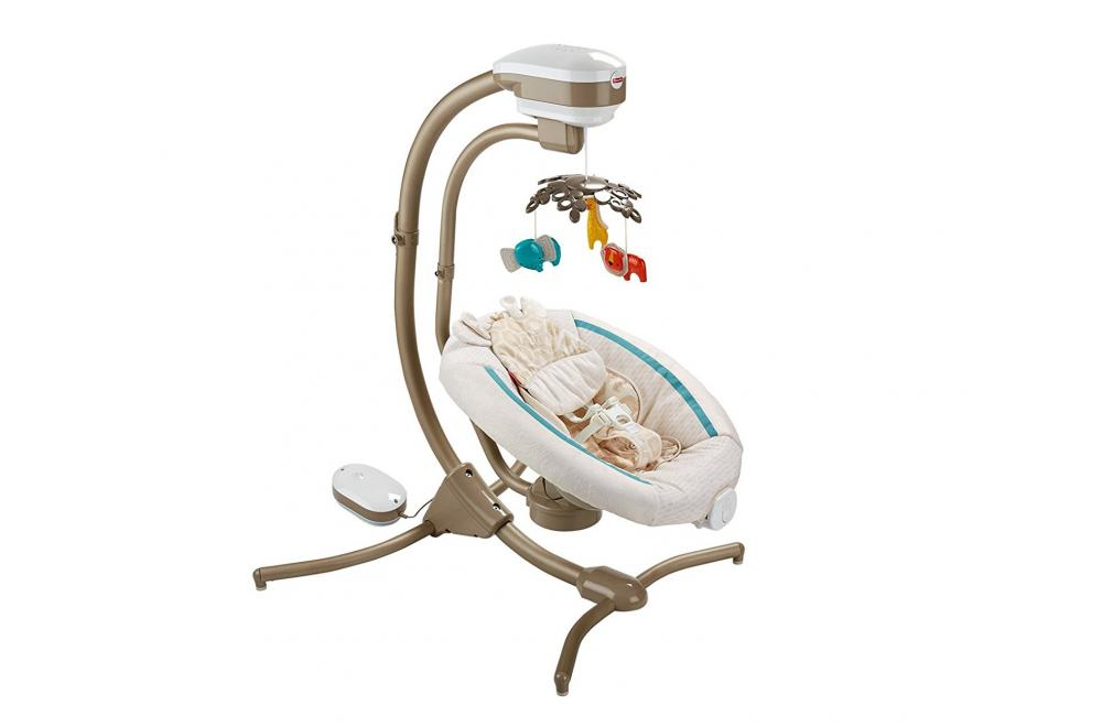 Fisher-Price Soothing Savanna Cradle and Swing - Swing for Baby