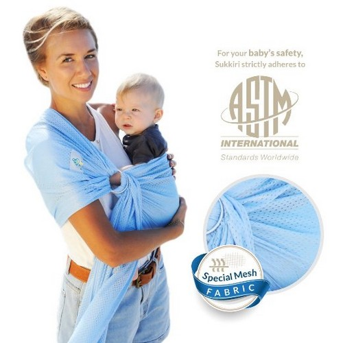 Lucky Baby Ring Sling with Breathable