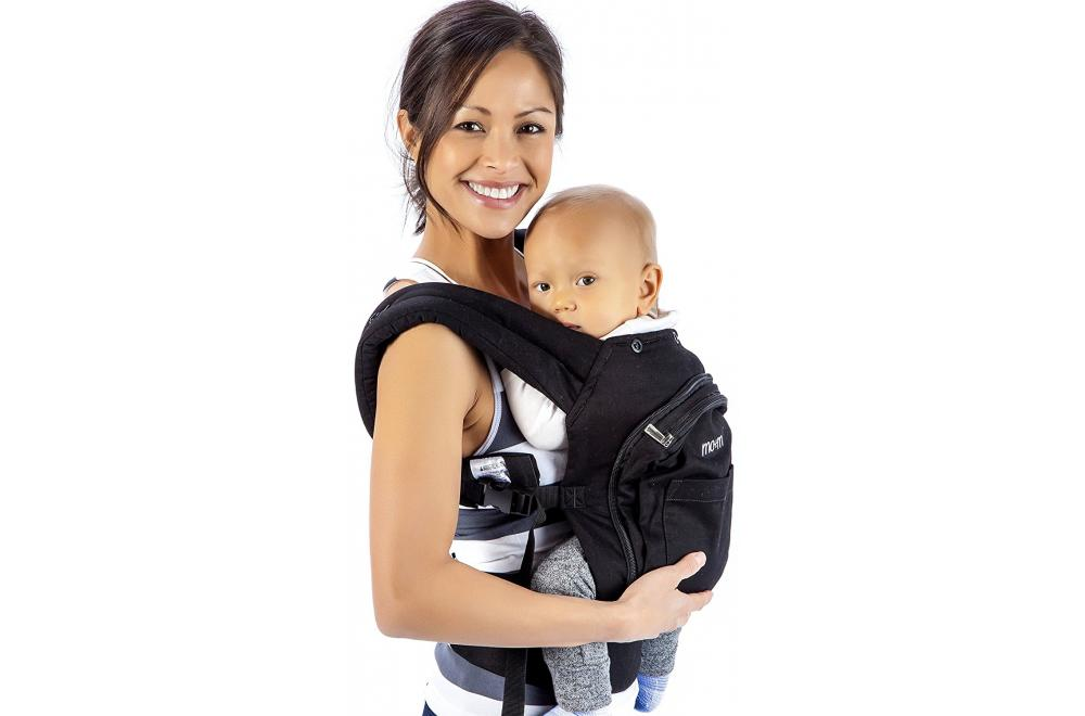 Mo+m Classic Cotton 3 Position Front Facing Baby Carrier