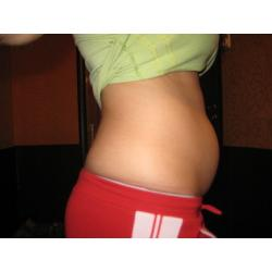 13 weeks pregnant belly photo
