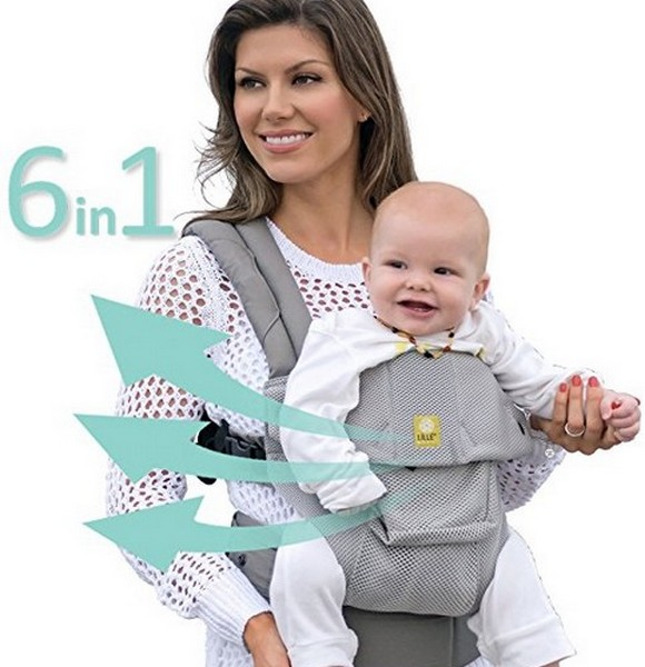 Six Position 360o Ergonomics Baby and Child Carrier