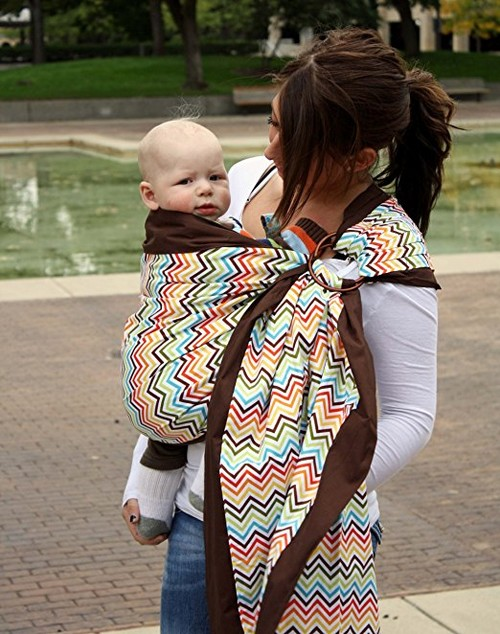 Snuggy Baby Prestige Ring Sling Baby Carrier