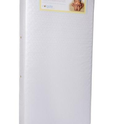 Colgate 2N1 Innerspring Toddler and Crib Mattress with Waterproof Cover
