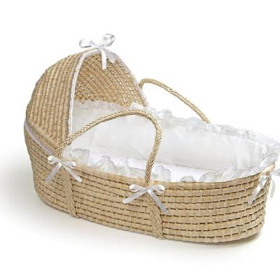 Badger Basket Moses Basket with Hood