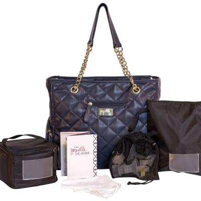 Jay Elle by J.L. Childress Breast Pump Bag 6 Piece Set