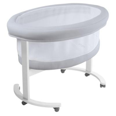 Micuna Smart Fresh Wooden and Fabric Bassinet