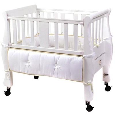 Arms Reach Concepts Inc. Co-Sleeper Sleigh Bed