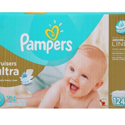 Pampers Cruisers Ultra Diapers, Size 3, Economy Pack