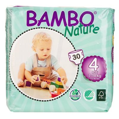 Bambo Nature Maxi Baby Diapers, Size 4