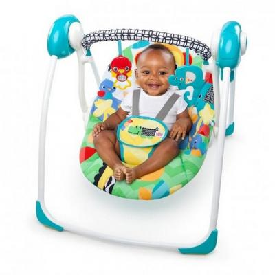 Bright Starts Safari Smiles Portable Swing