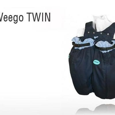 Weego Twin Navy Blue Carrier