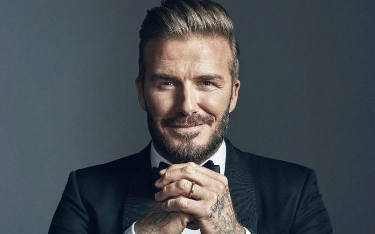 David Beckham, football player