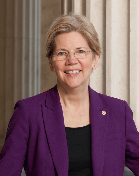 Elizabeth Ann Warren, U.S. Senator from Massachusetts