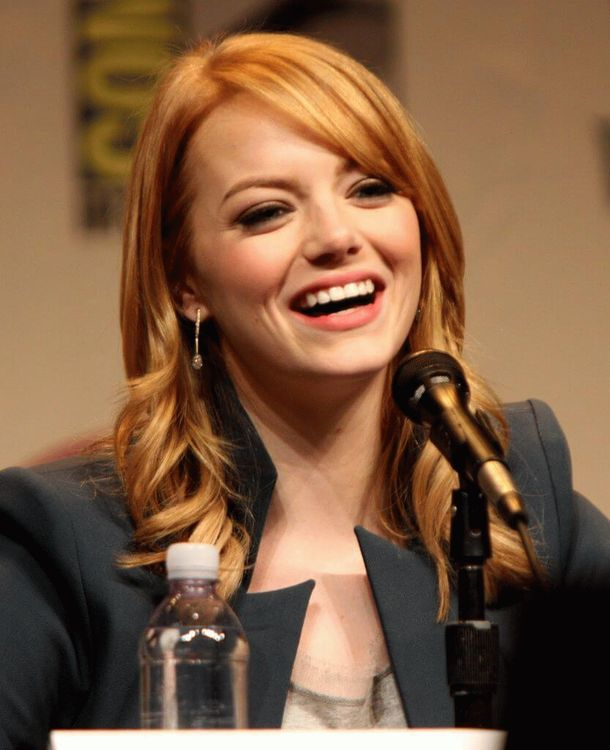Emily Jean (Emma) Stone, American actress