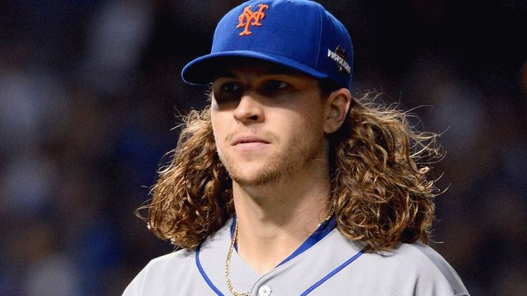 Jacob Anthony deGrom, American baseball pitcher