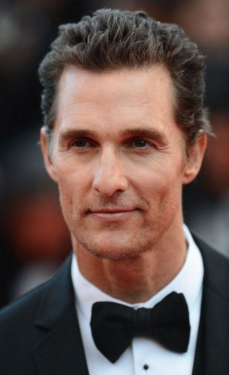Matthew David McConaughey, American actor