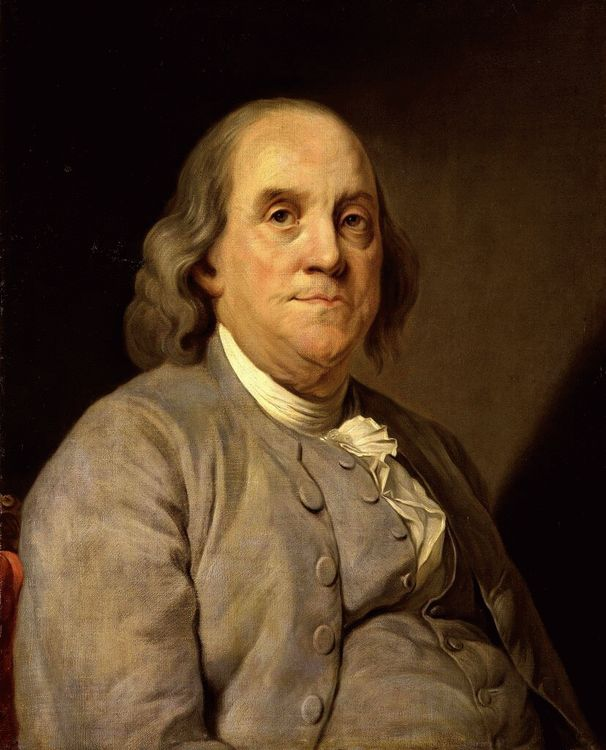 Benjamin Franklin, Founding Father of the United States