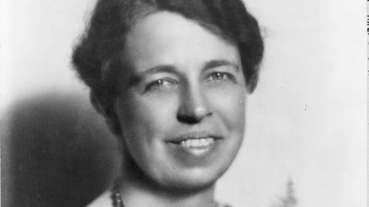 Eleanor Roosevelt, - wife of president