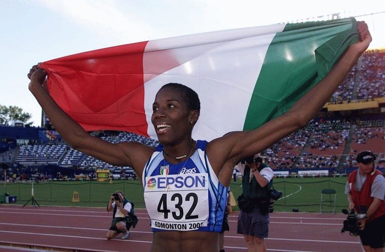 Fiona May Iapichino, Italian Olympic long jumper
