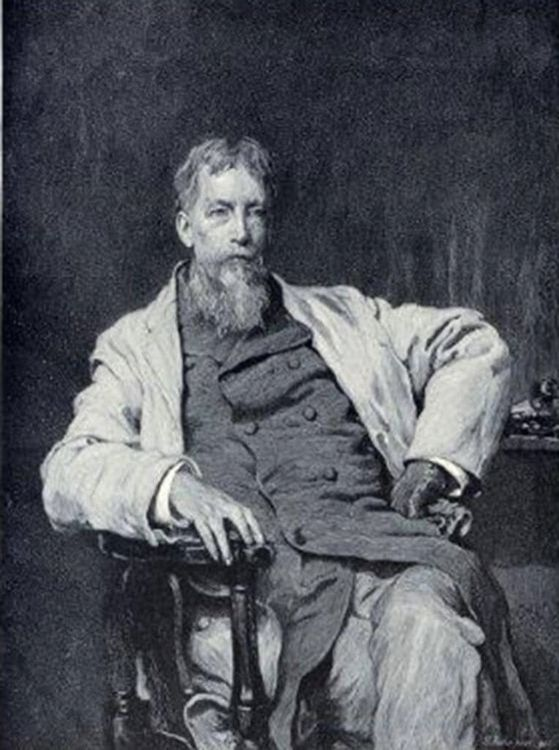 Silas Weir Mitchell, American physician and writer