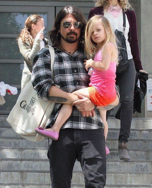 Violet Maye Grohl, child of Nirvana member and Foo Fighters frontman Dave Grohl