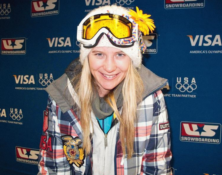 Hannah Teter, American snowboarder